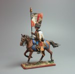 Tin Soldier Officer-eaglebearer of the 5th Hussars