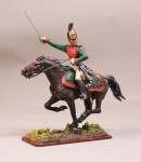 Tin Soldier Captain of Life Guard Dragoons regiment, 1814