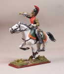 Tin Soldier Trumpeter of Life-Guard Dragoon regiment, 1812