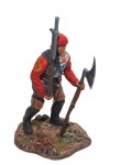 Burgundian Warrior with a Hand Cannon
