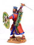 Persian Warrior Wearing a Crown
