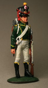 Flanqueur, Imperial Young Guard, 1813 ― AGES
