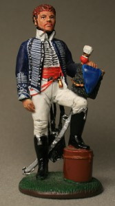 Officer, British Hussar, 1814 ― AGES