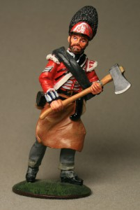 Pioneer, Royal Scots Fusiliers, 1815 ― AGES