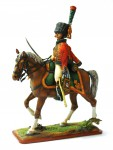 Trooper, Chasseurs a Cheval of the Imperial Guard (with sabre), 1810