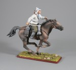 Tin Soldier Trooper of тне Red 1-st Horse army in charge,1920
