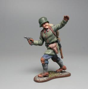 NCO of assault gruops, 1916 tin soldiers Ages