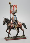 Tin Soldier Officer-eaglebearer of the 6th Hussars