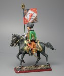Tin Soldier Officer-eaglebearer of the 7th Hussars