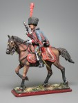 Tin Soldier Officer of the 3-nd Hussars with a pistol