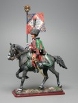 Tin Soldier Officer-Eaglebearer, 8th Hussars Regiment, 1810