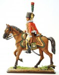 Officer, Chasseurs a Cheval of the Imperial Guard (with pistole), 1810