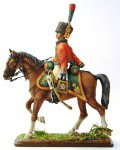 Trooper, Chasseurs a Cheval of the Imperial Guard (with carbine), 1810