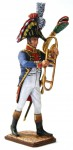 The Musician(Trombone) of the Foot Grenadiers Band, 1810