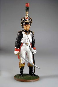 Officer, French Guard Fusiliers-Chasseurs, 1810 ― AGES