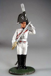 Prussian Officer, French Garde du Corps, 1806 ― AGES