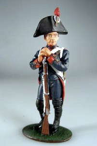 Gunner, French Foot Artillery, 1805 ― AGES
