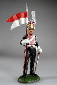 Polish Lancer, French Guard Cavalry, c. 1807 ― AGES