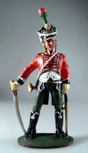 Trumpeter of the 11th Chasseurs, Napoleon's Chasseurs a Cheval, 1810 ― AGES