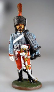 Sapper, French Hussars, 1810 ― AGES