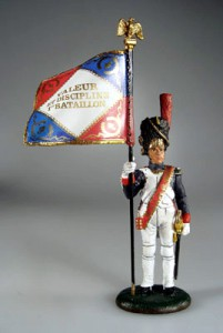 Eagle Bearer, French Old Guard, 1811 ― AGES