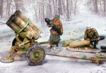 German Bulge Nebelwerfer Set 2 Figs/Weapon